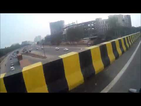 Developing Gurugram   Iffco chowk new flyover   Maharana Pratap chowk flyover