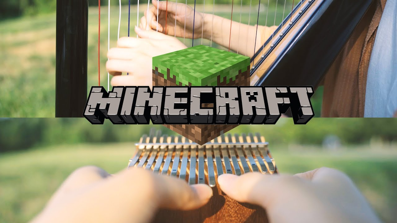 Playing Minecraft BGM in Real Life - Haggstrom (Kalimba & Harp)
