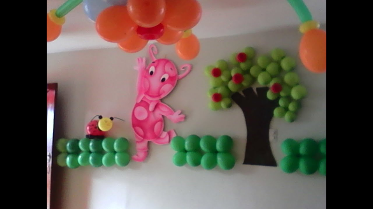 Cumplea os the backyardigans decoracion infantil youtube - Adornos cumpleanos infantiles ...