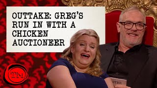 OUTTAKE: The Time Greg Davies Got Put in a Headlock by a Chicken Auctioneer | Taskmaster S10