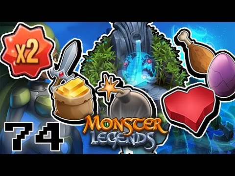 EVENTO de OBJETOS DOBLES en la ISLA GUARDIANES DE LA TIERRA!! - Monster Legends - Capitulo 74