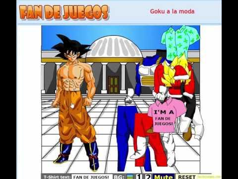Un Juego De Goku Goku A La Moda
