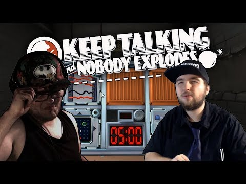 "Keep Talking and Nobody Explodes (Links et Jérémy) - Episode 1.1 ""Les bulles carrées"""