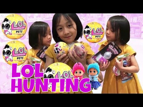 Hunting Toys Hunting LOL Pets Mainan Anak Indonesia by Lifia Niala