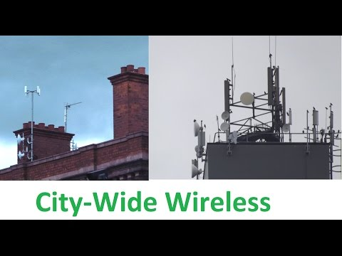 City Wide Fixed Wireless Broadband with 5GHz Ubiquiti. Hull
