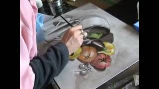 Demonstration  by The Paint Basket  - Grisaille workshop
