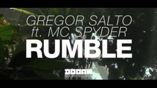 Gregor Salto & MC Spyder  - Rumble