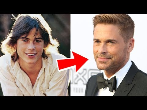 Rob Lowe from 3 to 53 years old