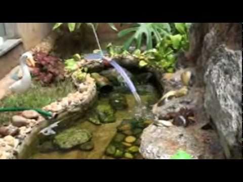 Laguinho artificial youtube for Como construir un lago artificial