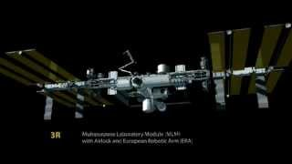 International Space Station Construction Timelapse