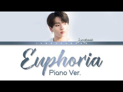 BTS Jungkook - EUPHORIA Piano Ver. (DJ Swivel Forever Mix) 「Han/Rom/Eng Lyrics」