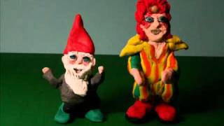 "a BOWIE animation - ""The Laughing Gnome"""