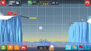 Build a Bridge Level 9 Android 3 Star Walkthrough