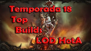 Diablo 3 Temporada 18 Top Builds de Bárbaro: LOD HOTA