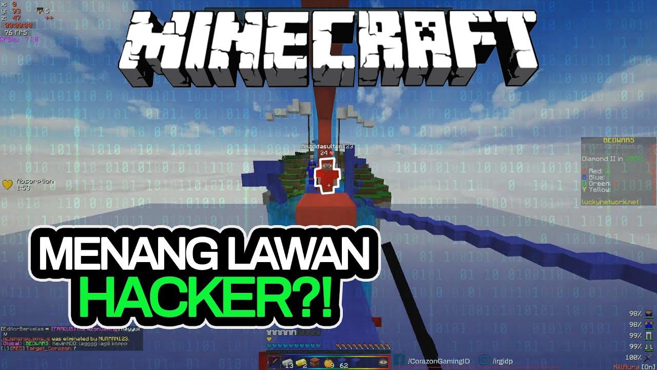 MENANG LAWAN HACKER DI BEDWARS?!! - Minecraft Bedwars Indonesia