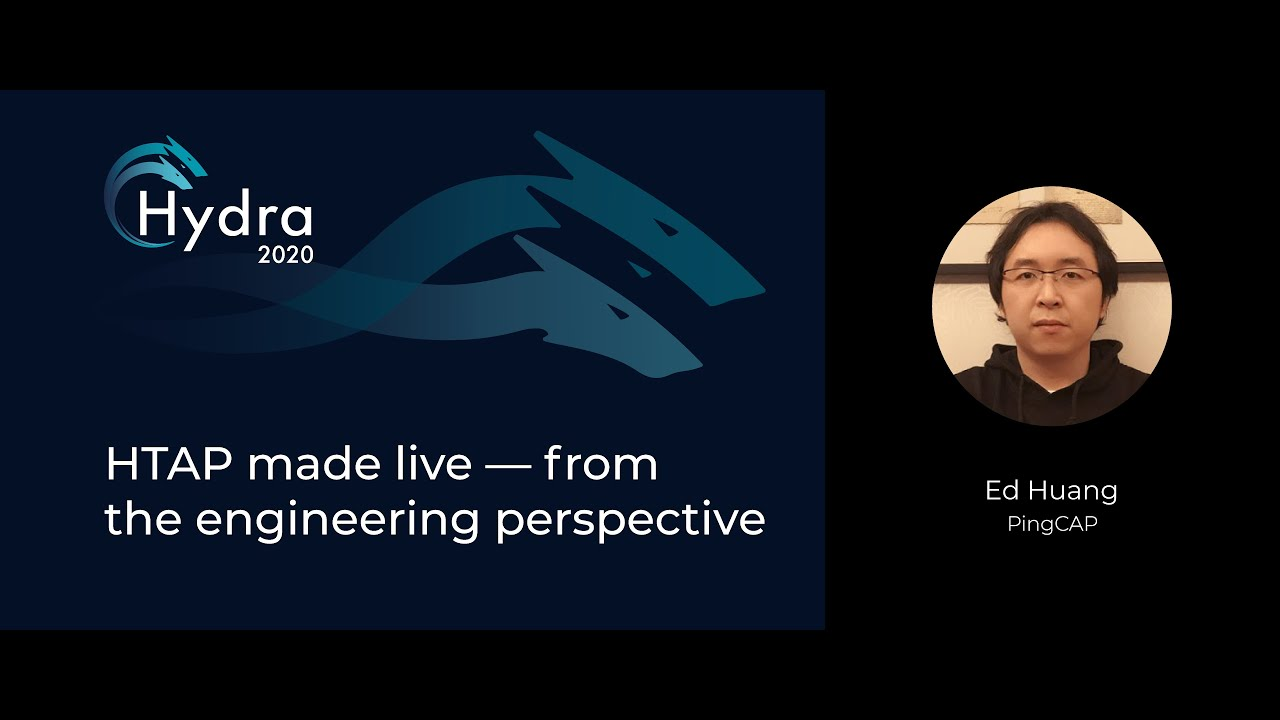 HTAP Made Live — from the Engineering Perspective