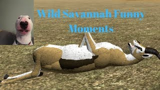 Roblox - Wild Savannah - Funny moments #2