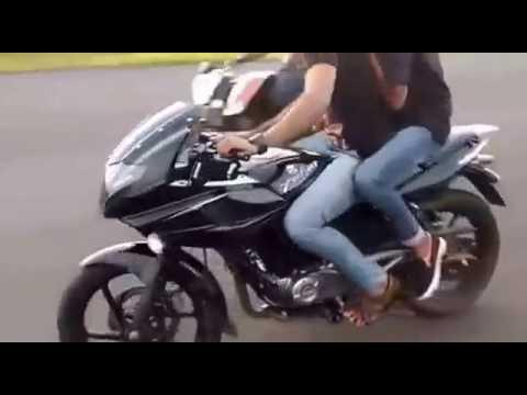 bike stunts 2017 pulsar220 ducati bike stunt bullet stunt fz stunt