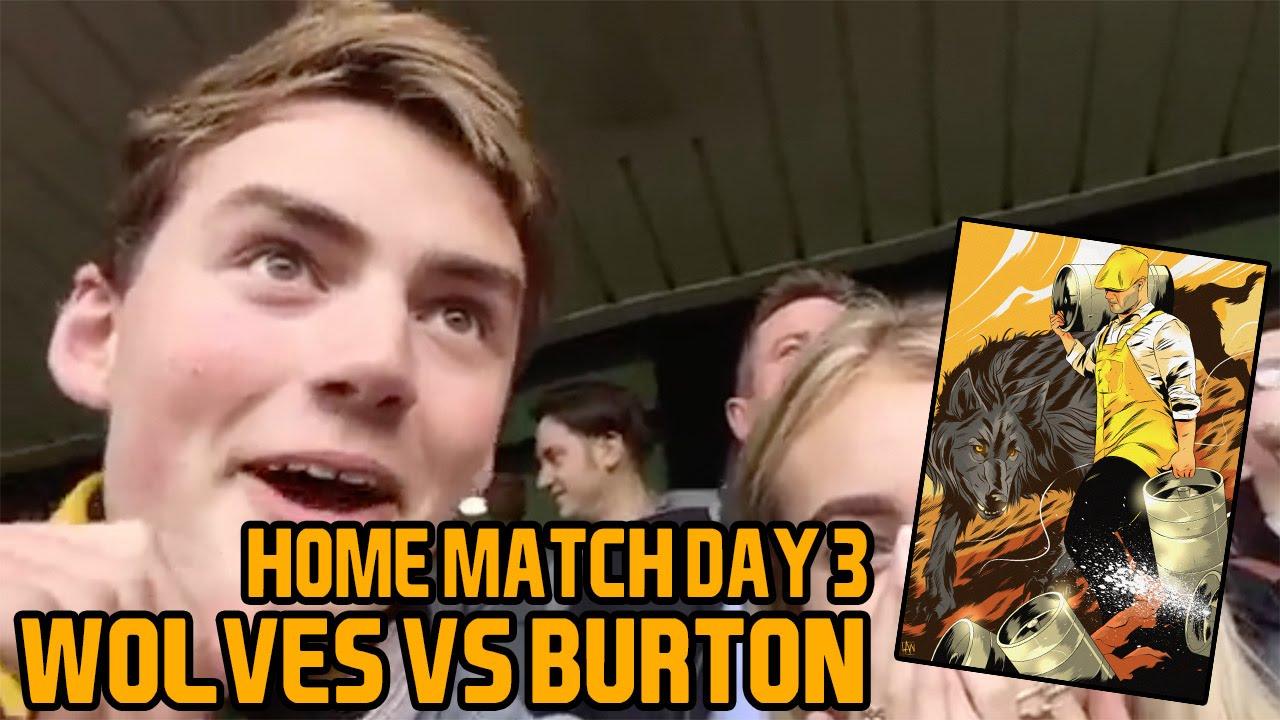 Wolves Vs Burton Wolves Vlog 3 Youtube