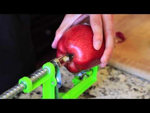 Loopy Apple Peeler Makes Healthy Snacks for Kids