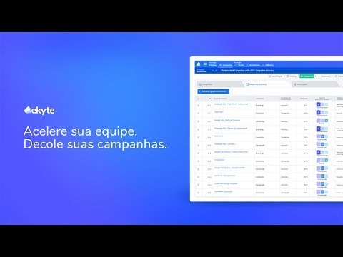 eKyte - Plataforma para Gestão de Marketing Digital