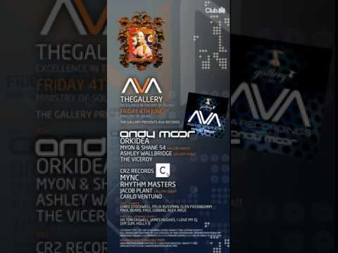 Ministry of Sound The Gallery 4th June