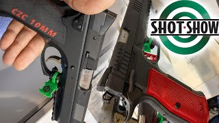 SHOT SHOW 2020   CZ-USA DWX and CZC 10MM !!!!