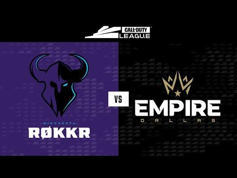 Minnesota Røkkr vs Dallas Empire | Stage III Week 3 — Dallas Home Series | Day 4