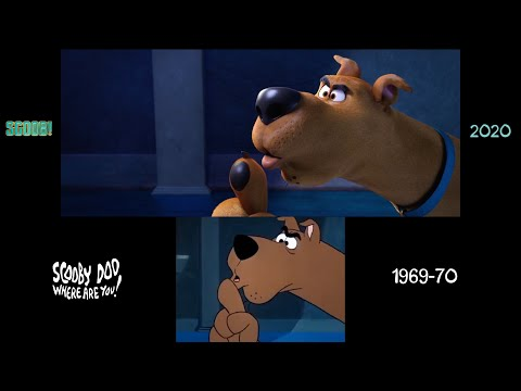 Scooby-Doo (1969/2020) Side-by-side Comparison