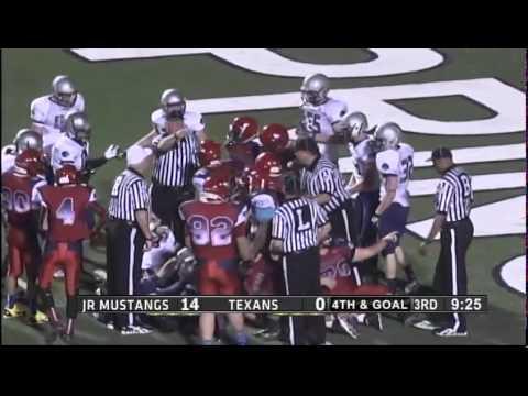 World Youth Football Semifinals Canada vs Texans