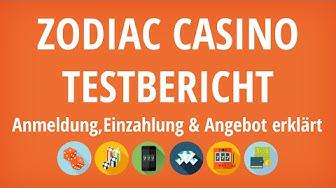 Zodiac Casino Testbericht: Anmeldung & Einzahlung erklärt [4K]