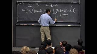 e - Euler's Number (MIT Lecture Video)