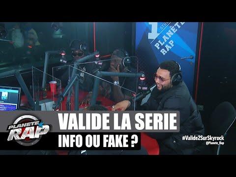 Youtube: INFO ou FAKE spécial VALIDÉ avec Sam's, Gazo, Rachid Guellaz, Le H et Saïdou Camara… #PlanèteRap