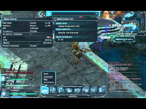 PSO2 - Seabed Exploration VH