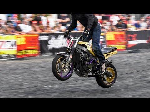 Amazing Stunt Riding by Mike Jensen  1st Place Czech Stunt Day