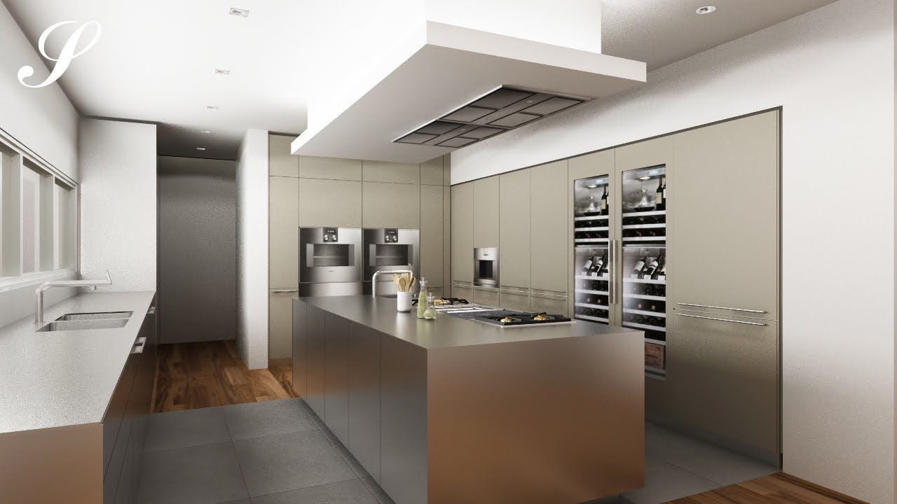 3d bulthaup kitchen - YouTube
