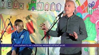Yvelines | Les enfants de l'Hôpital Mignot fêtent noël