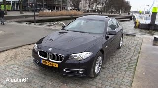 BMW 5 Series 2016 Start Up, Drive In Depth Review Interior Exterior