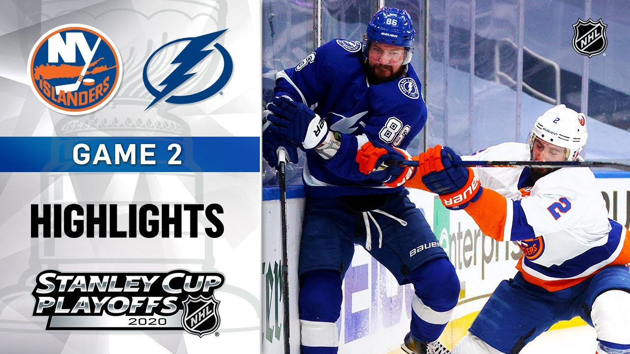 Nelson and the Islanders visit Tampa Bay with 1-0 series lead