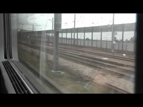 Riding the Chunnel from London to Paris HD