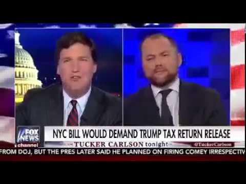 Council Member Corey Johnson talks Trump's tax returns on Tucker Carlson