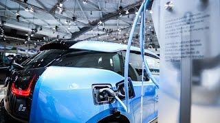 Vidéo Salon de l'Auto Bruxelles 2017 électriques