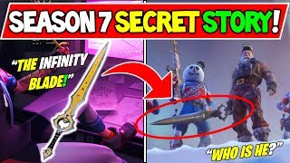 "* NUEVO * FORTNITE TEMPORADA 7 HISTORIA SECRETA! ¡VIENE ""INFINITY BLADE""! (EVENTO TIER 100 ICE KING +LTM)"