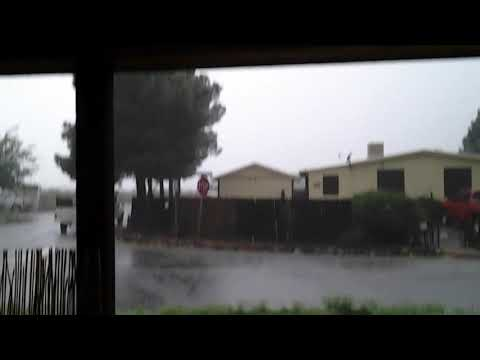 A Typical Monsoon Storm In Arizona