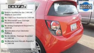 2012 Chevrolet Sonic - Lake Buick GMC - Lake Elsinore, CA 92531 - U1803