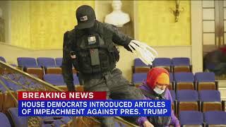 House Democrats prep Trump impeachment bill; GOP blocks 25th Amendment ouster-by-Cabinet call | ABC7