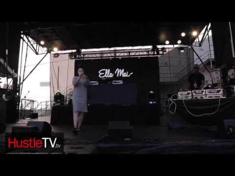 HustleTV Ella Mai Hit's The Stage In Los Angeles