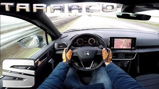 Seat Tarraco 2.0 TDI (190 PS) 4Drive POV Testdrive AUTOBAHN acceleration & speed