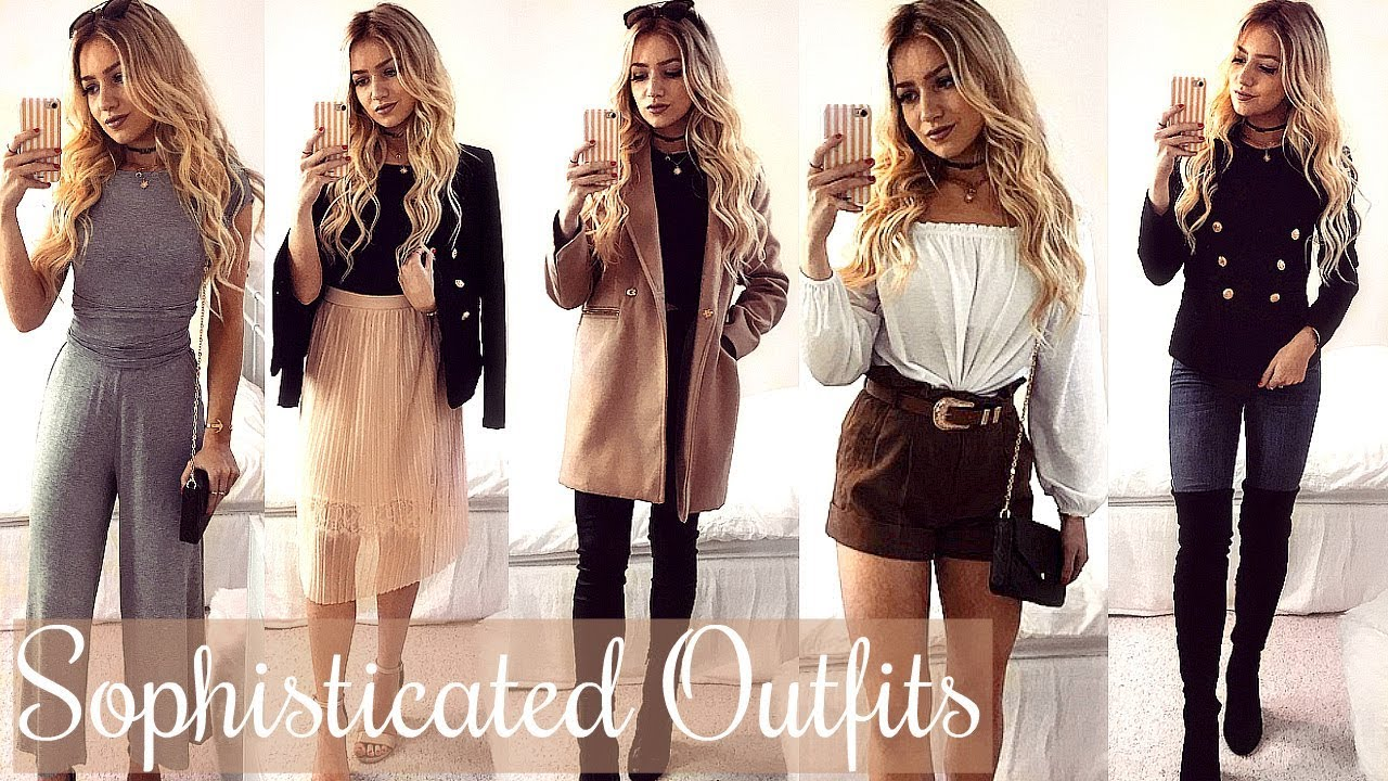SOPHISTICATED AND CLASSY OUTFIT IDEAS 2017 LOOKBOOK