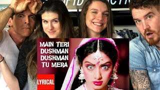 Americans React to SRIDEVI Song and Dance!